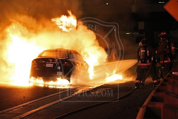 July 24, 2016 - Vehicle Fire - Gardiner Expy. WB near Dunn Ave.