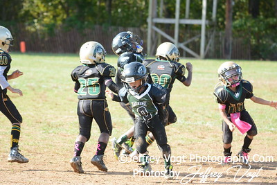 10-10-2015 Montgomery Village Sports Association Chiefs Tiny Mites vs Southern Maryland Eagles, Photos by Jeffrey Vogt Photography