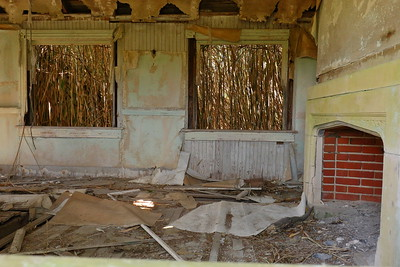 I believe this was the living room of the Cushman house. Mockhorn Island, VA. © 2020 Kenneth R. Sheide