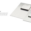 Aluminum MetalPrint - Back Showing Float Mount Hangers
