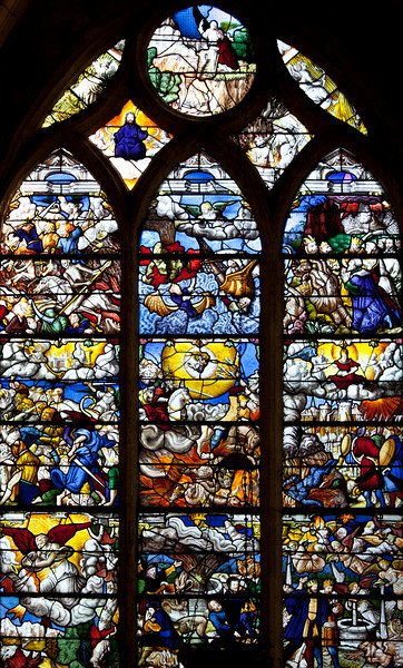 La Ferte-Milon - The Apocalypse of Saint-John Window