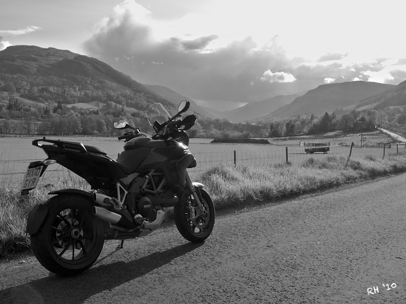 "2010 Black Multistrada 1200S - ""The Road Home"" by 'Technomad' (aka RichardH)