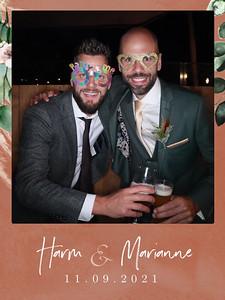 Bruiloft Harm en Marianne