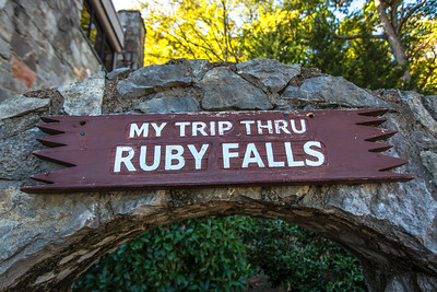 Ruby Falls, Chattanooga, North Georgia