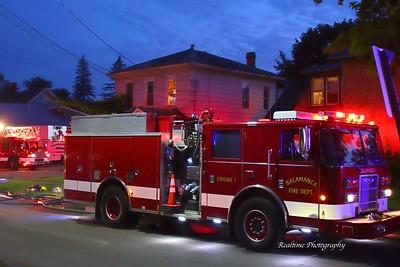 Salamanca Structure Fire 07/06/2019