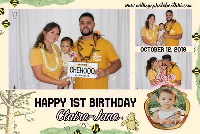 Happy Birthday Claire Jane
