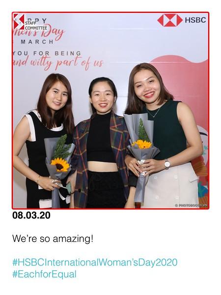 HSBC Vietnam | Dong Khoi Office International Women's Day instant print photo booth | Chụp hình lấy liền Ngày Quốc tế Phụ Nữ 8/3 | Photobooth Saigon
