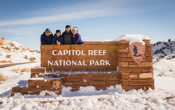 Capitol Reef and Bryce NP