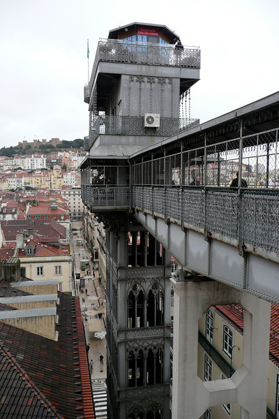 Elevador de Santa Justa. Baixa, Lisbon