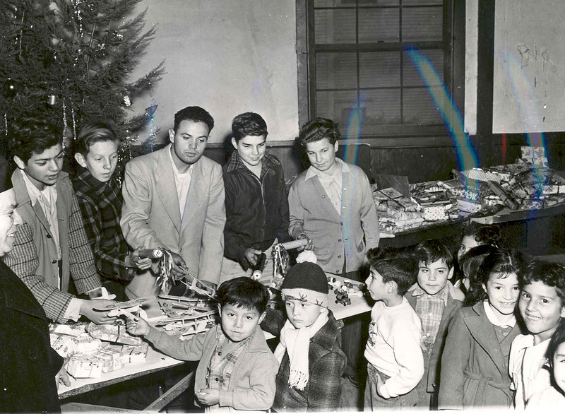 Activities 1949 Christmas Party for the Poor.jpg