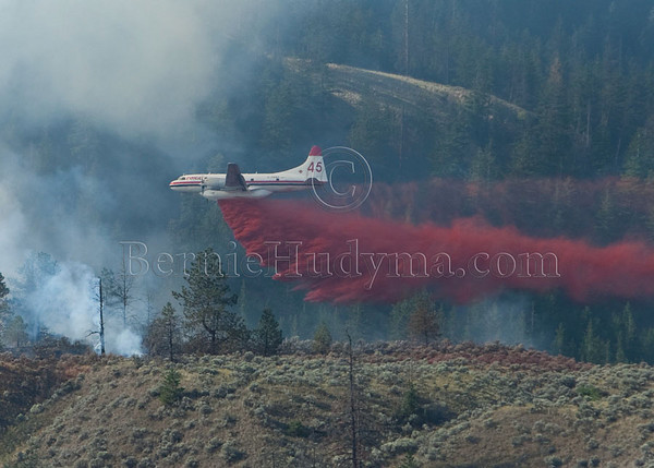 Kamloops Forest Fire July 28,2010