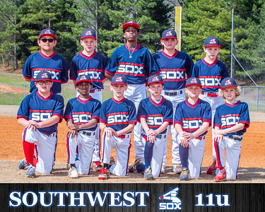 Southwest Sox Team Photo