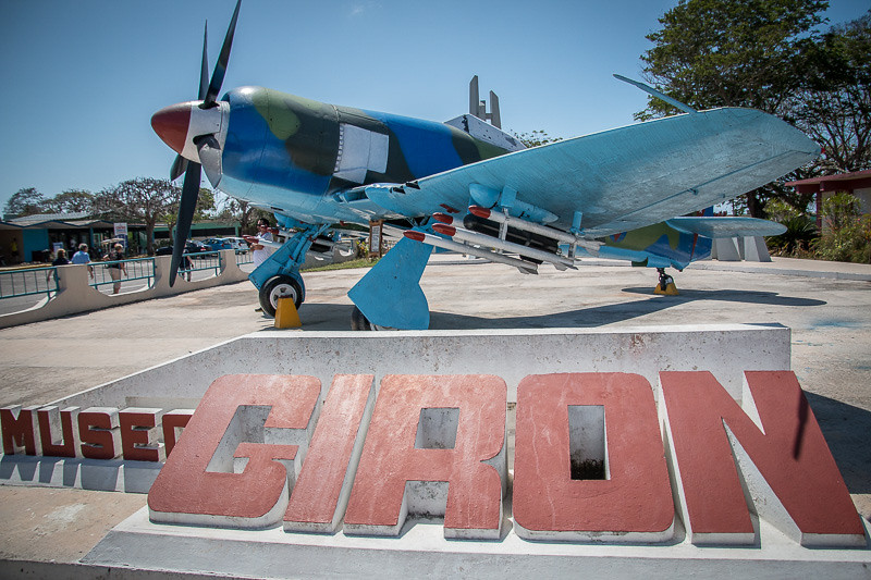 February 26 - Cuban Fighter Plane_ Museo Giron (Bay of Pigs)_ Cuba.jpg
