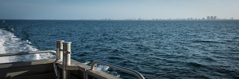 Marco Island off stern