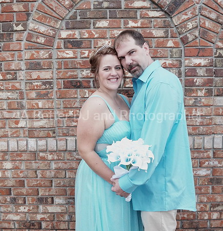 Joseph and Heather married St Augustine, Florida