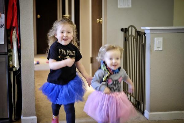 Freya and Katherine