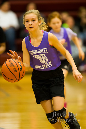 3rd/4th Grade Girls Basketball at DCS League, January 23
