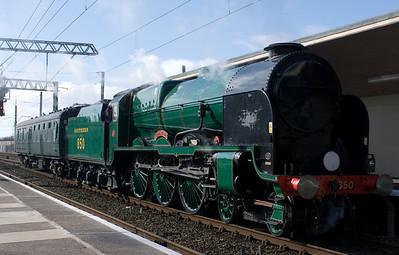 Mainline steam, 2007
