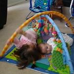 Kailin and Quinn on the mat