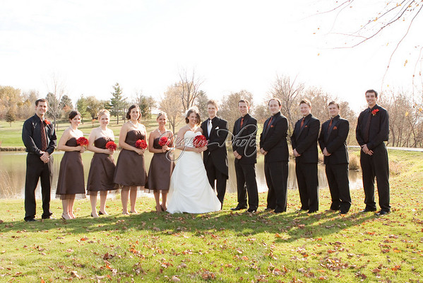 Wedding Party Photos - Sara and Mark