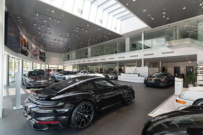 Porsche South Bay dealership photography July 2021