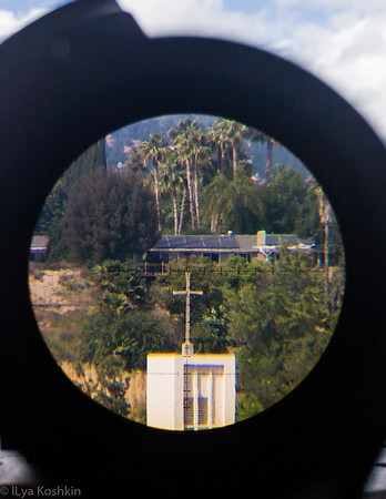 Through the scope