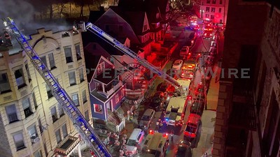 4 Alarm Apartment Building Fire - Bruce Ave, Yonkers, NY - 1/1/21