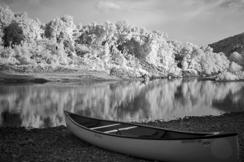I posed the canoes for these next couple of shots.
