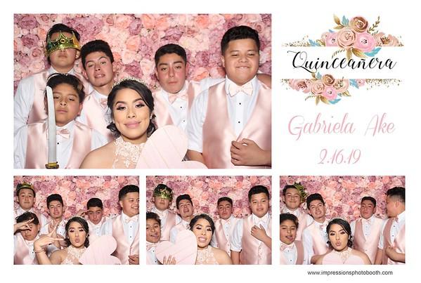 Gabriela's Quinceanera 2.16.19