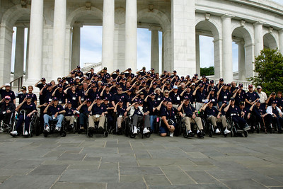 Honor Flight 4 part 8 Group Photo