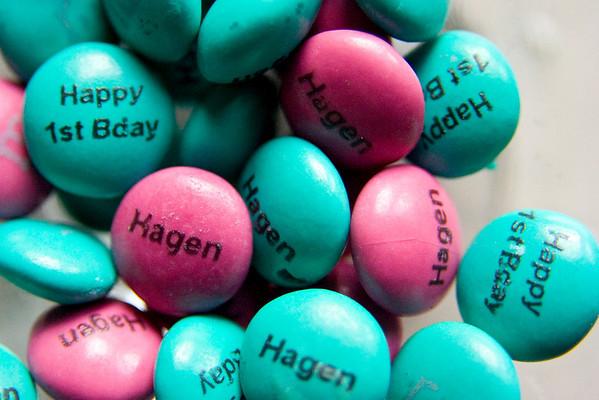 Hagen's First Birthday Party