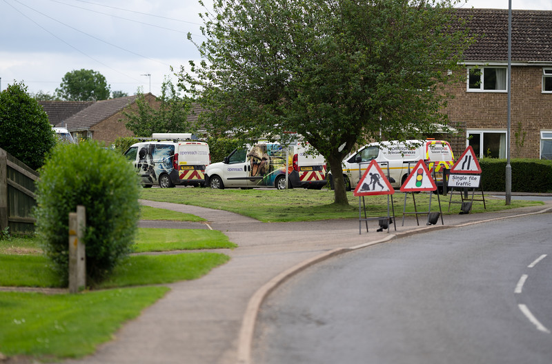 Lots of Openreach activity (7 July 2021)