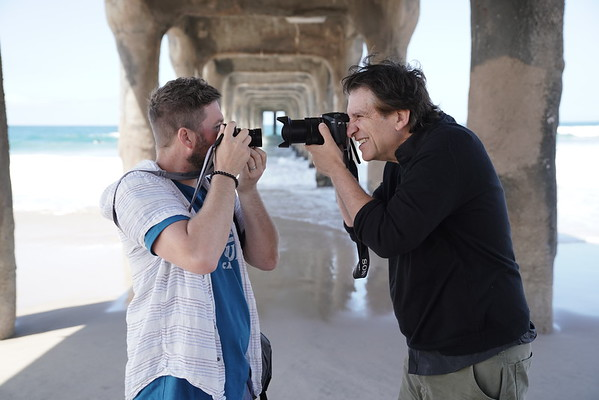 Photowalk with Pete Halverson in Manhattan Beach