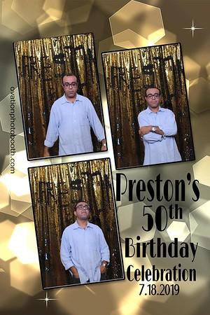 Prestons 50th BDAY