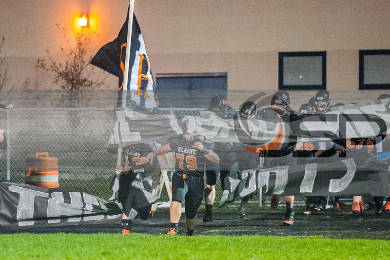 2014-10-24 SQHS at Blaine varsity