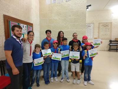 Easter camp awards