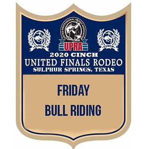 UPRA Finals Friday Bull Riding