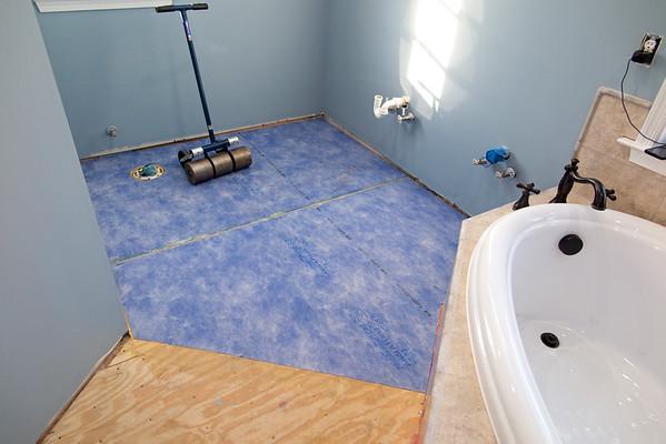 Bathroom Mod Blog Page Ten - floor tile