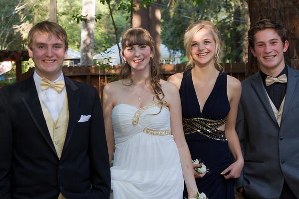 Mahri, Sierra, Avery, & Billy Senior Prom 2014