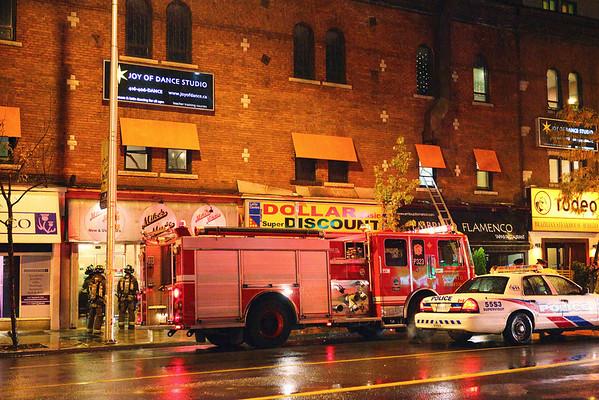 October 14, 2010 - 2nd Alarm - 103 Danforth Ave.