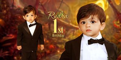 Happy 1st Birthday Rudra