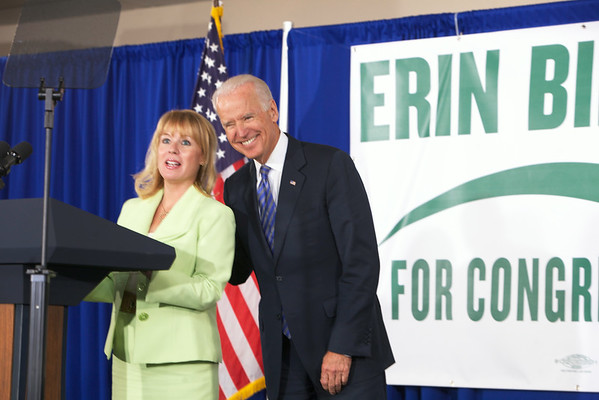 Rally with VP Biden