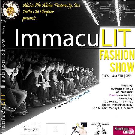 ImmacuLIT Fashion Show