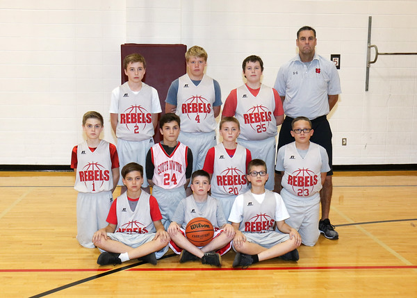 SNMS Boys Basketball 2019