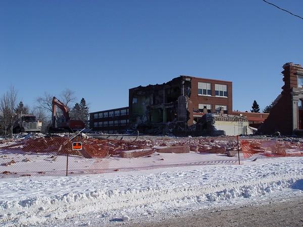 2004 Destruction of Jedlicka Junior High School