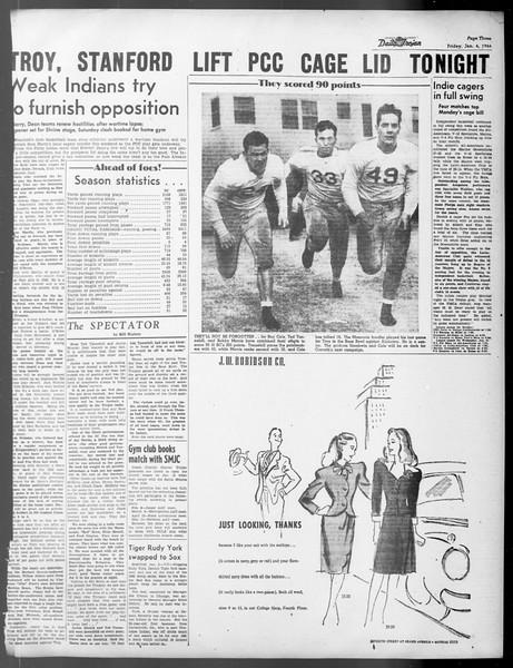 Daily Trojan, Vol. 37, No. 42, January 04, 1946