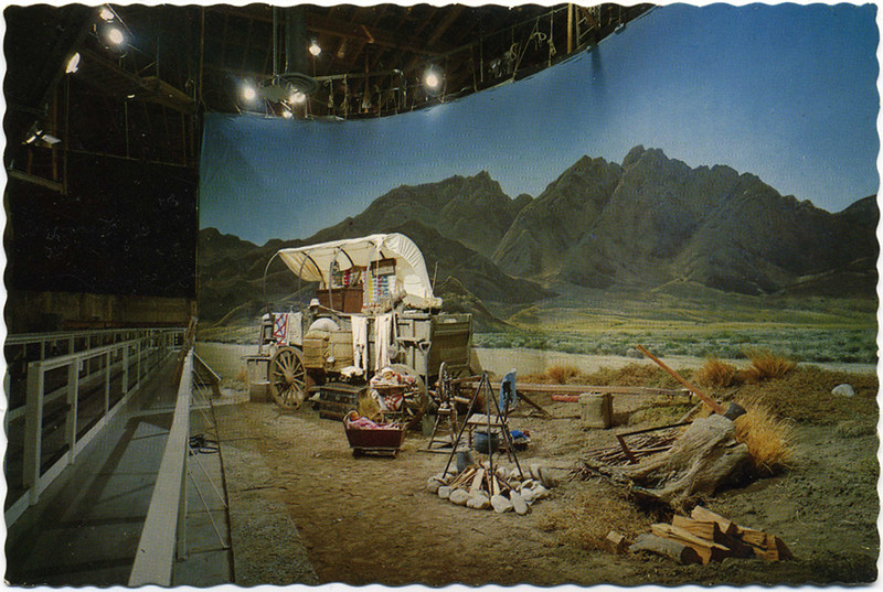 Sound Stage Western Set
