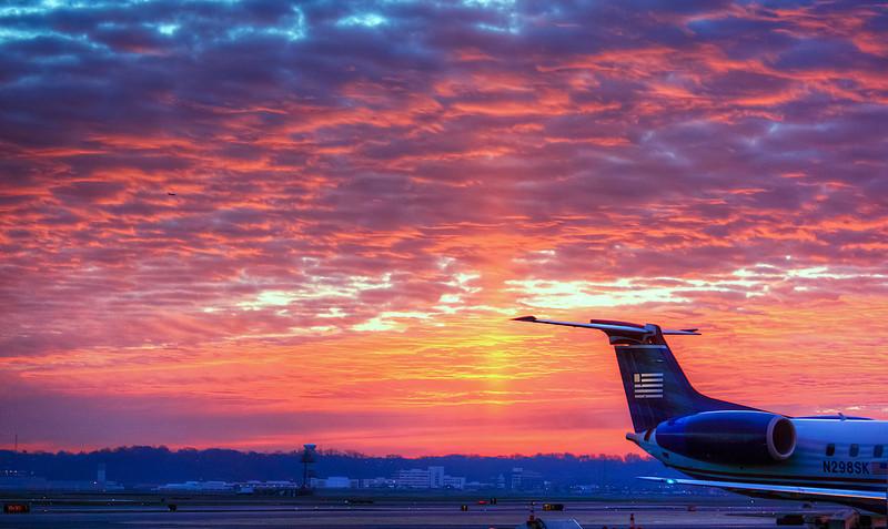 DCA Sunrise  http://sillymonkeyphoto.com/2012/12/11/dca-sunrise/