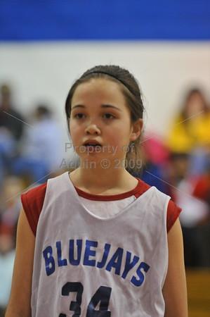6th grade girls bball vs freeport  01.07.09
