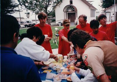2/17~ 2/18, 1996 - San Diego Bike Trip